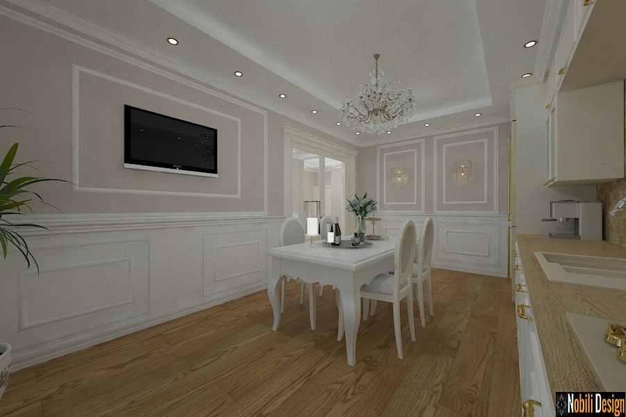 Classic style interior design house in Liverpool
