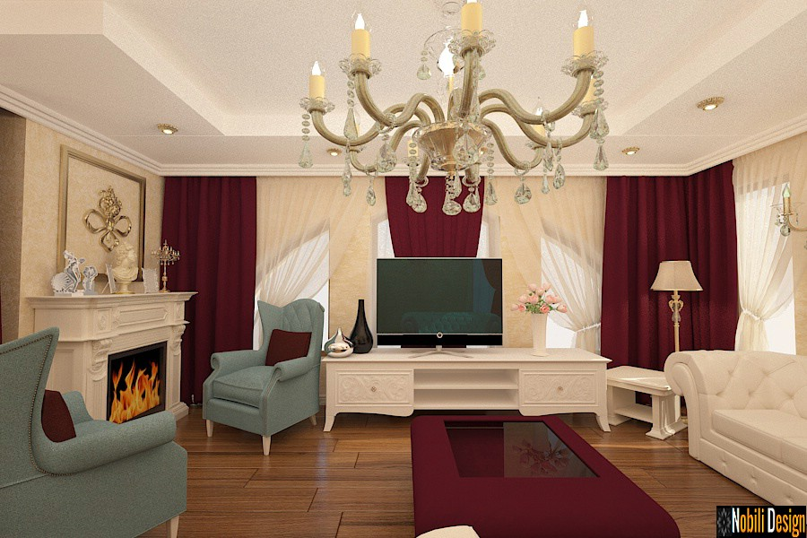 Interior design classic luxury home in Manchester