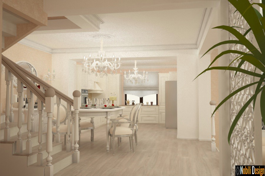 Classic interior design house project 002