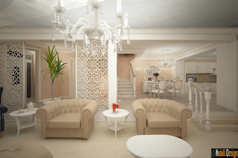 Classic interior design house project 004