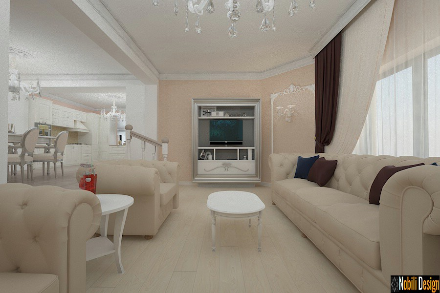 Classic interior design house project 006