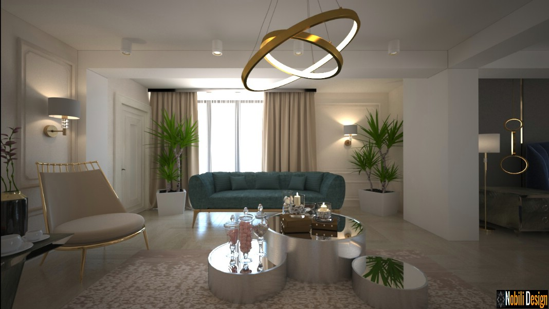 Contemporary interior design project in a house 4