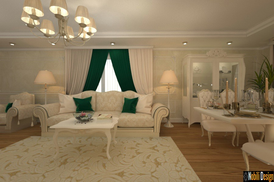 Luxury interior design - Italian furniture bedroom living room