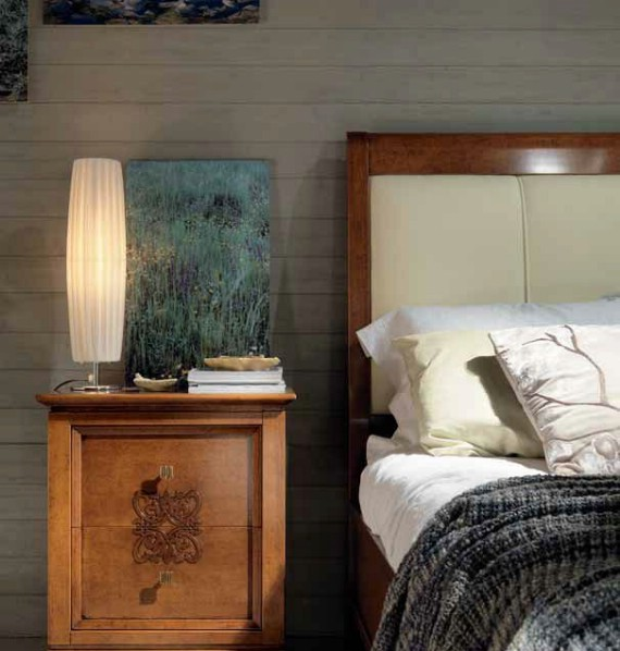 Classic bedroom furniture made of wood Harmony 7