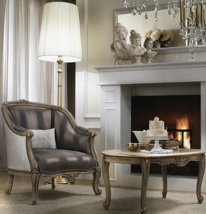 Klasik salon koltukları Meteora 1