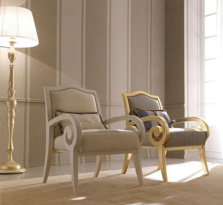 Klasik salon koltukları Meteora 16