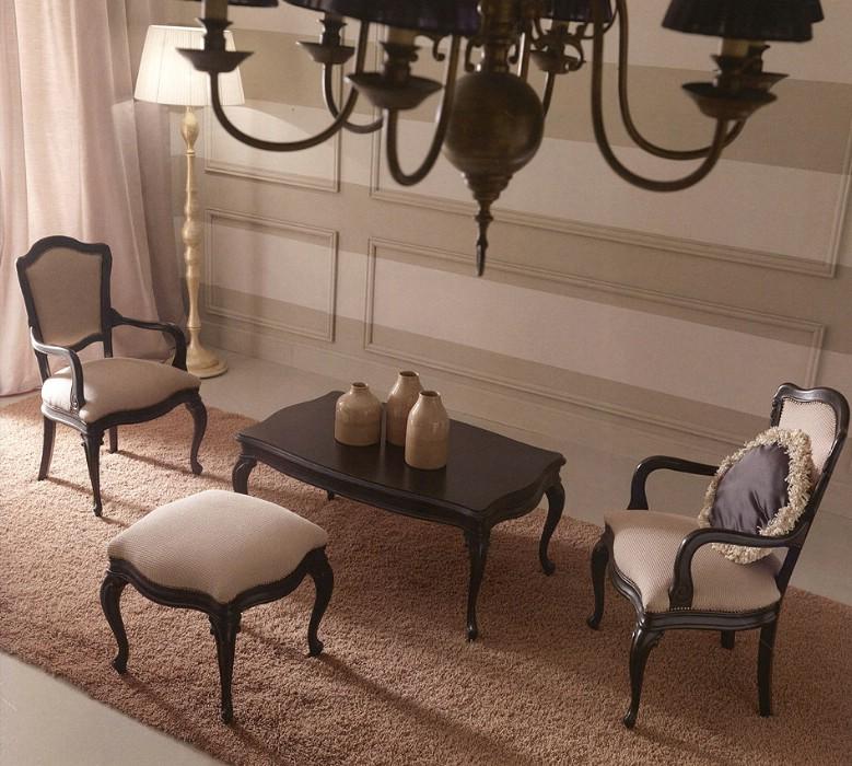 Klasik oturma odası mobilyaları Chic 1
