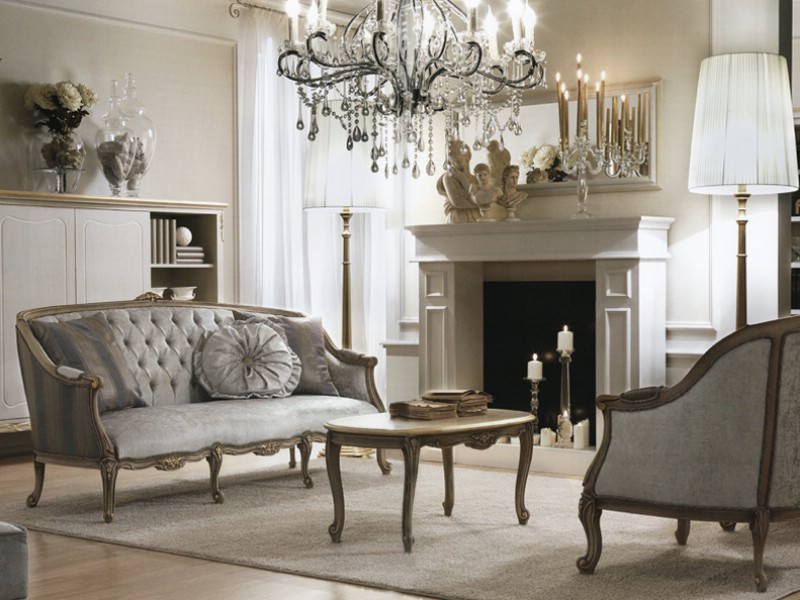 Classic living room furniture Italy - Italian furniture for ...
