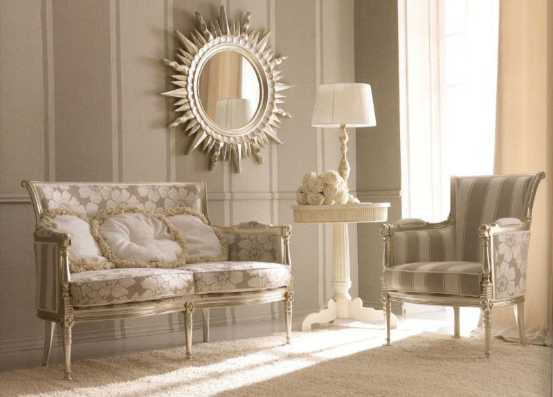 Classic living room furniture Kelly - Classic Italian living ...
