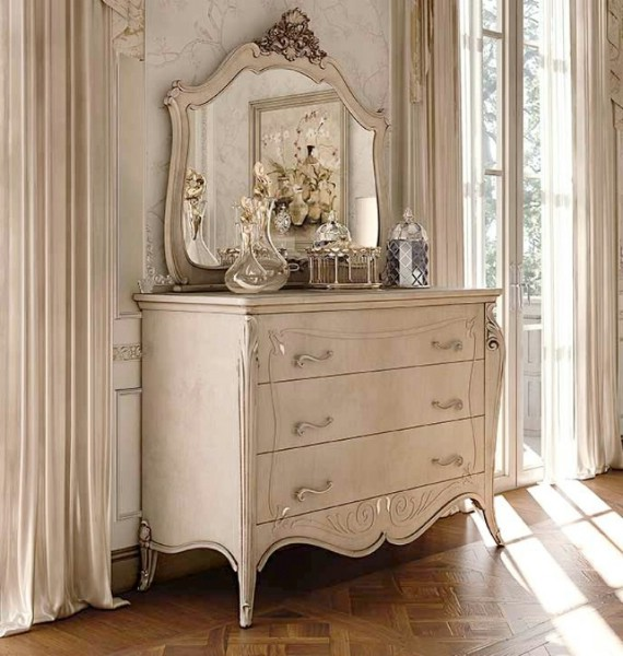Classic luxury bedroom furniture Opera 4