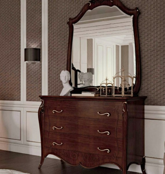 Classic luxury bedroom furniture Opera 5