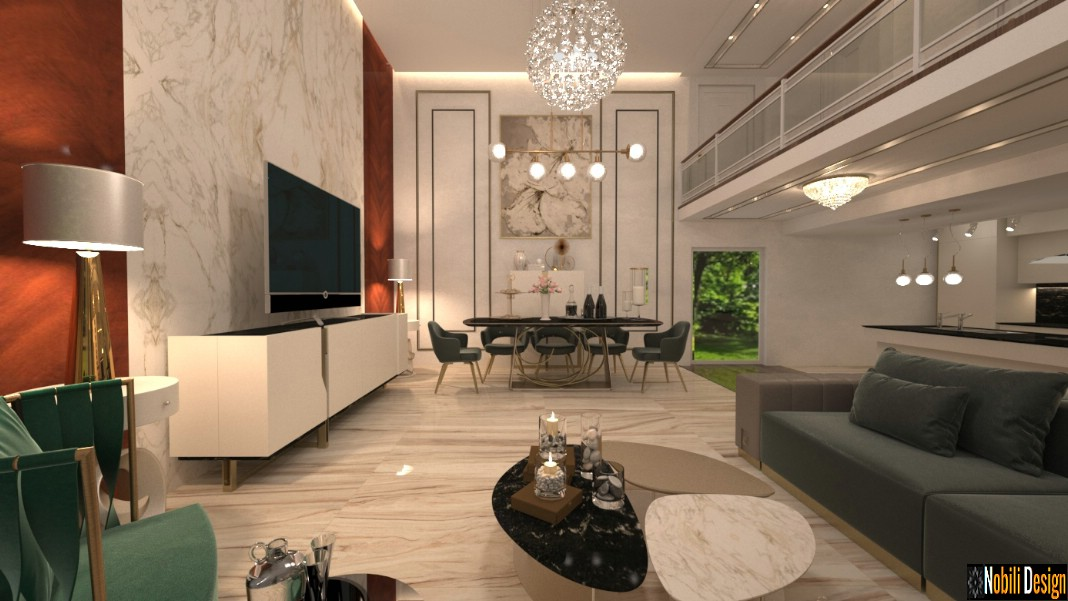 Interior design concept for modern luxury home - Nobili ...