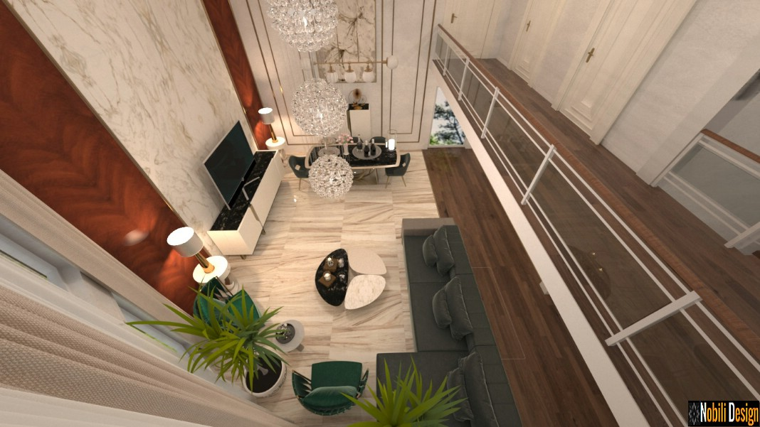 Interior design for modern luxury home in Manchester