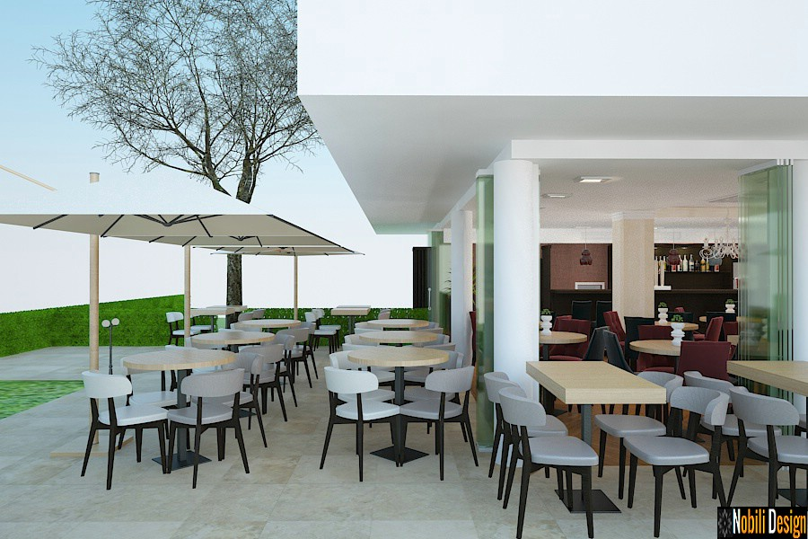 Terrace restaurant interior design project in Manchester