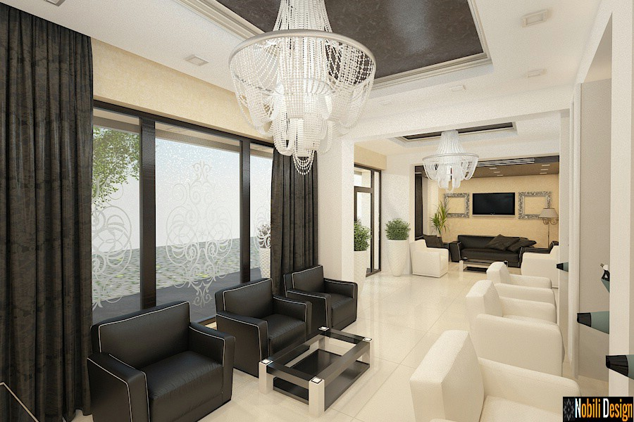 Sleek beauty salon interior design concept 5