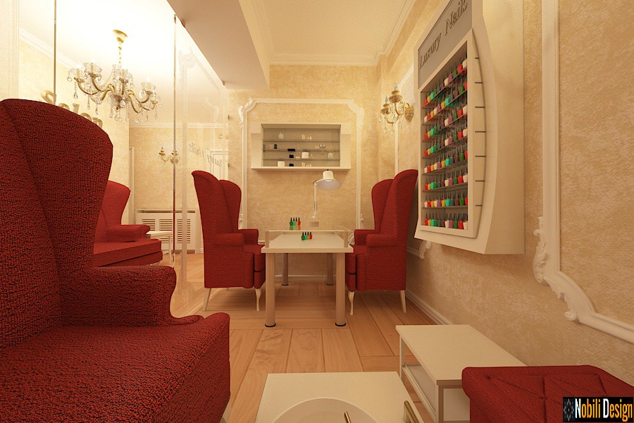 commercial interior design - beauty salon interior design