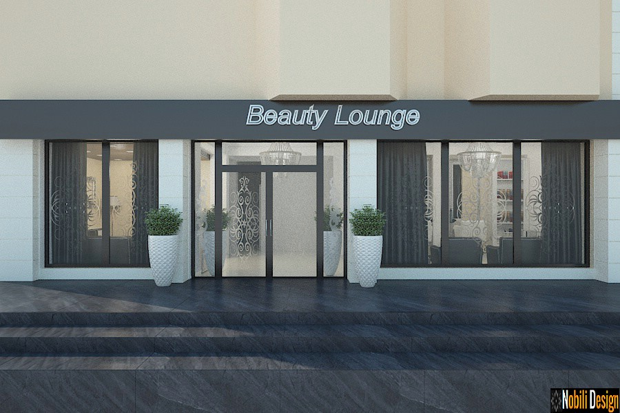 Interior design beauty salon project 10