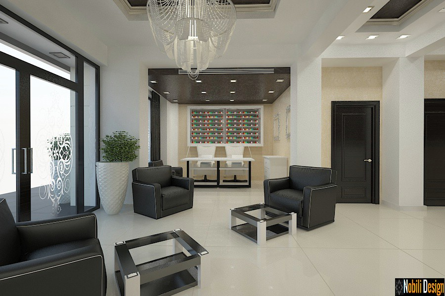 Interior design beauty salon project 2