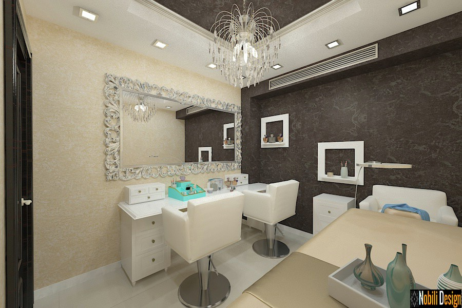 Interior design beauty salon project 4