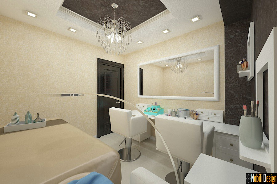 Interior design beauty salon project 7