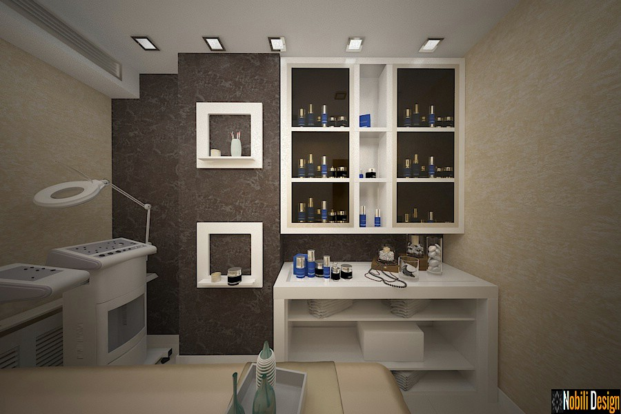 Interior design beauty salon project 9