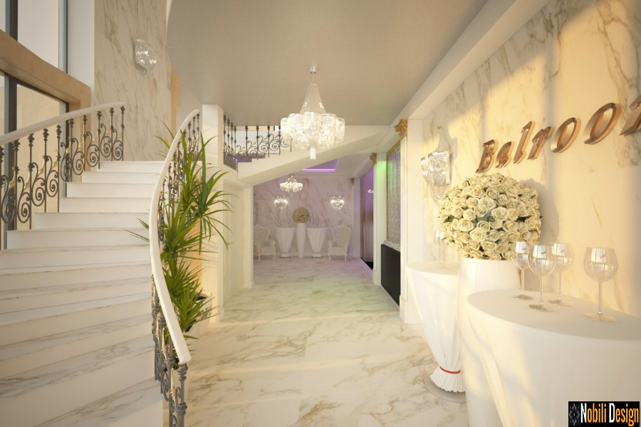 Interior design wedding restaurant reception project