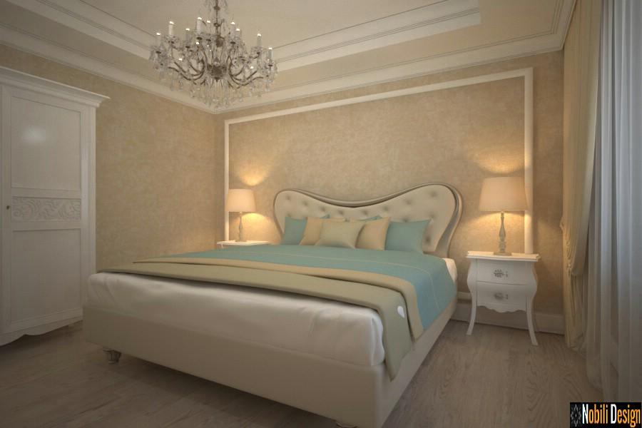 Classic hotel room interior design