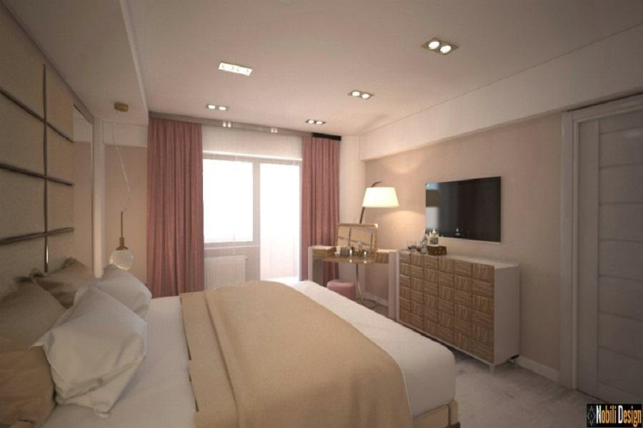Interior design hotel room