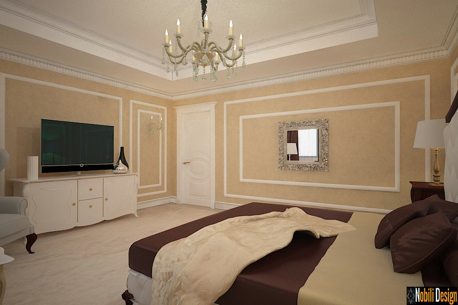 design d'intérieur de chambre d'hôtel