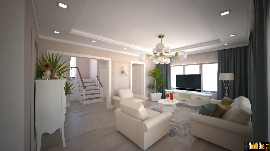 Charming classic house interior design concept 1
