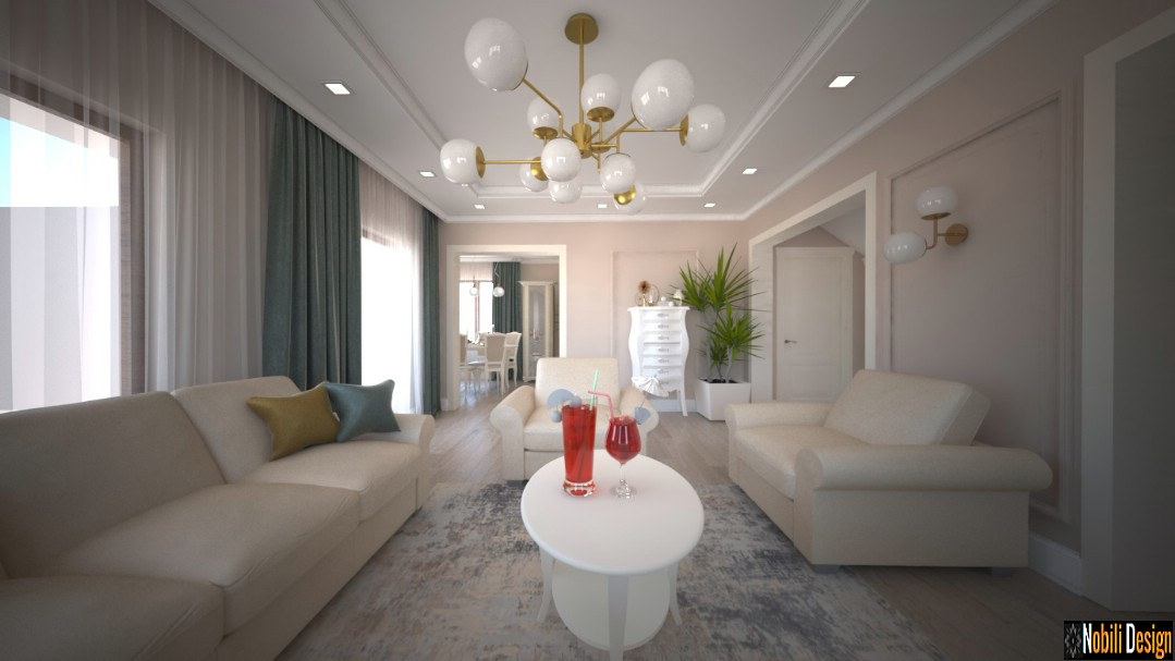Charming classic house interior design concept 4