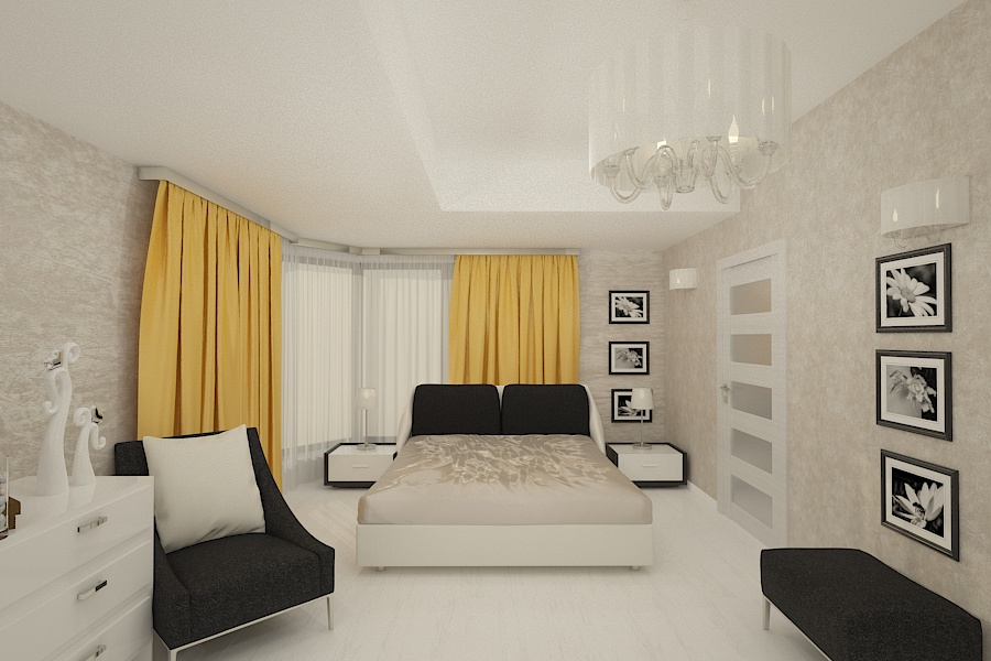 Contemporary style interior design project for a home 10