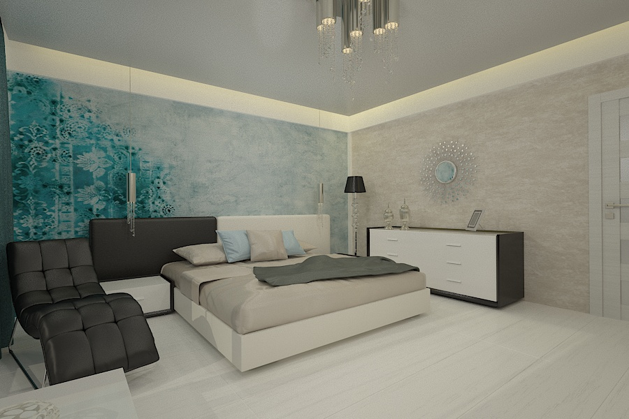 Contemporary style interior design project for a home 11