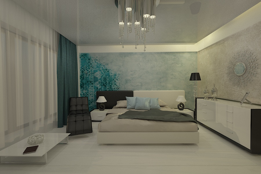 Contemporary style interior design project for a home 12