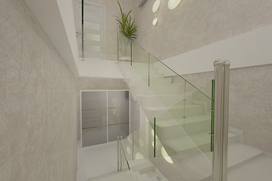 Contemporary style interior design project for a home 8