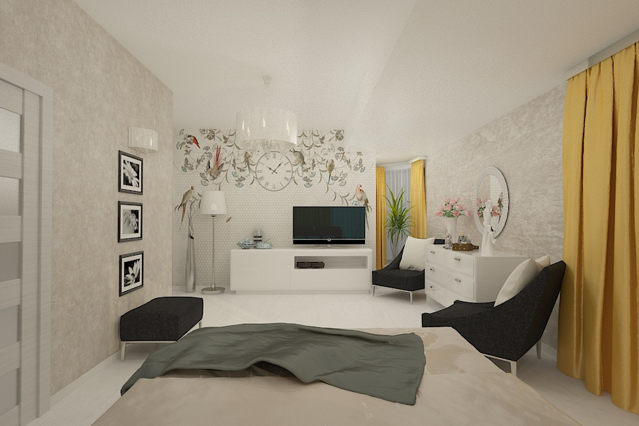 Contemporary style interior design project for a home 9