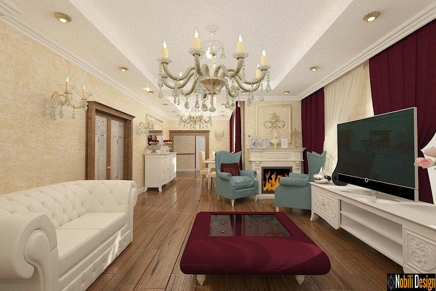 Interior design classic style house