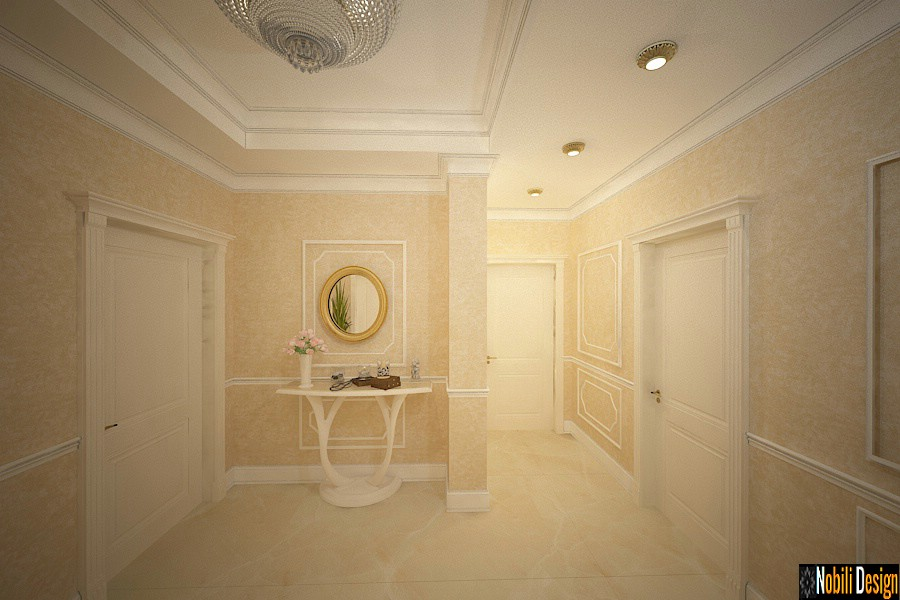 Luxury classic interior design apartment project 14
