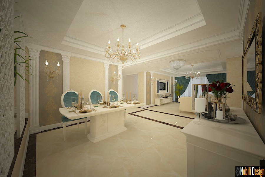 Luxury classic interior design apartment project 2