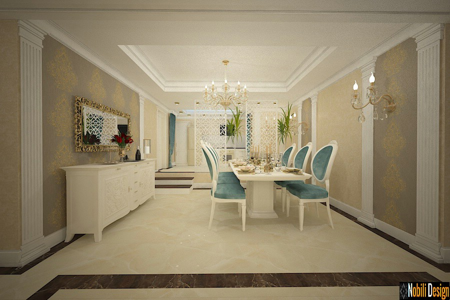 Luxury classic interior design apartment project 3