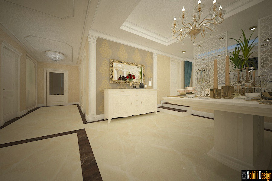 Luxury classic interior design apartment project 7