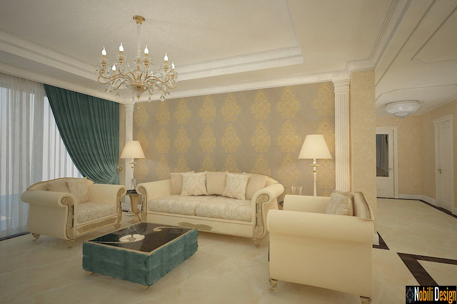 Luxury classic interior design apartment project 9