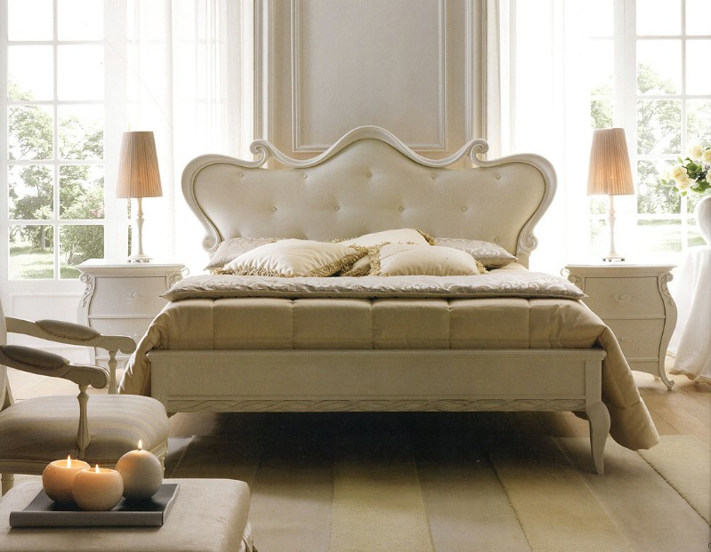Luxury italian bedroom furniture | Classic bedroom Kinshasa | Bed upholstery price