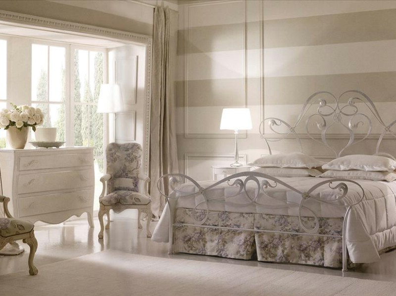 Classic luxury furniture bedroom Gisel Silver