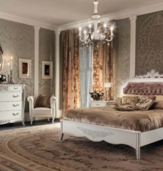 Classic luxury bedroom furniture Gran Guardia