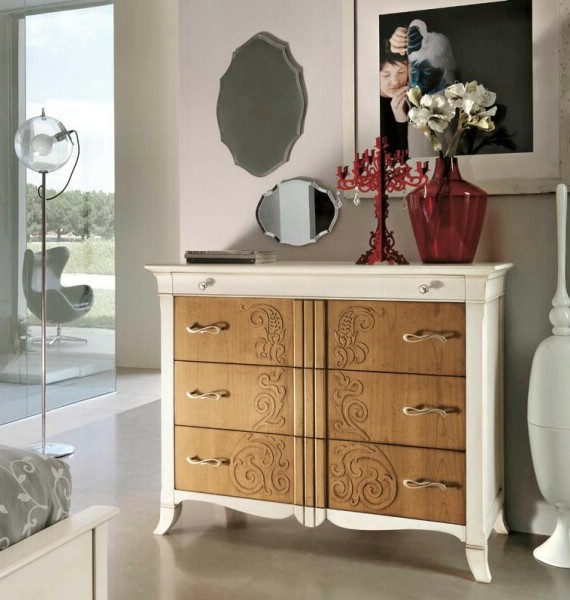 Classic bedroom furniture Newdeco 8