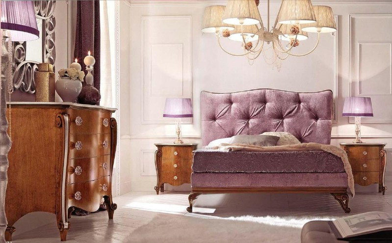 Classic luxury bedroom furniture Claire 1