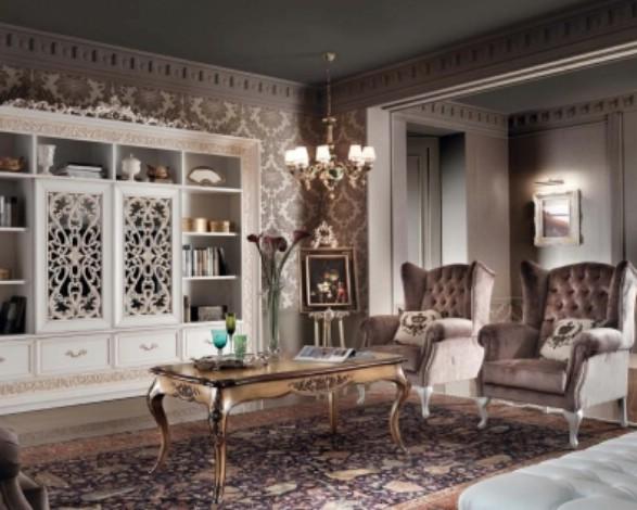 Классическая роскошная гостиная витрина Granguardia 2