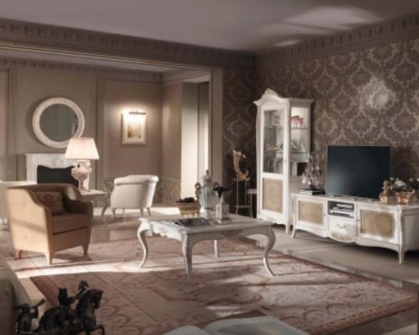Классическая роскошная гостиная витрина Granguardia 6