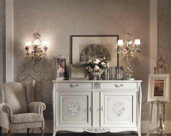 Классическая роскошная гостиная витрина Granguardia 8